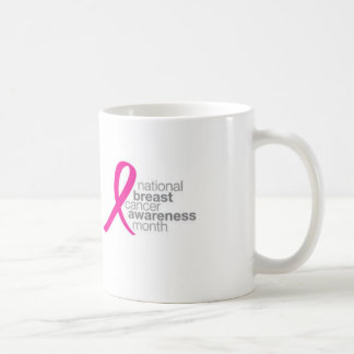 National Breast Cancer Awareness Month Coffee Mug