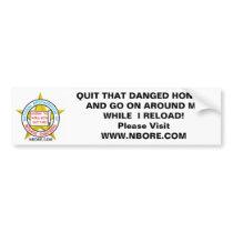 National Brotherhood Of Redneck Engineerin' Bumper Sticker