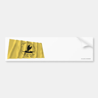 National Capitol District Waving Flag Bumper Stickers