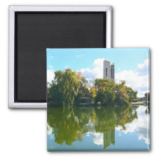 National Carillon - Canberra 2 Inch Square Magnet