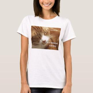 National Cat Day Tee Shirt October 29