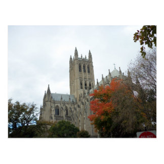 National Cathedral In Autumn Postcard