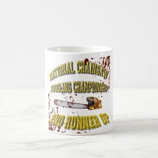 National Chainsaw Juggling Championship Coffee Mug