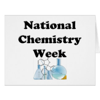 National Chemistry Week Large Greeting Card