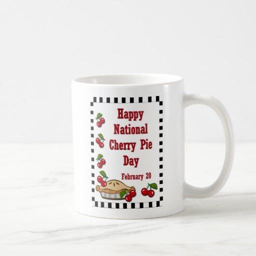 National Cherry Pie Day February 20 Mugs