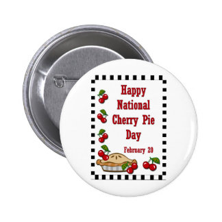 National Cherry Pie Day February 20 Pin