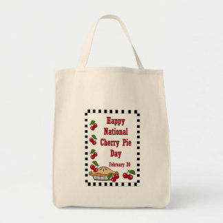 National Cherry Pie Day February 20 Tote Bag