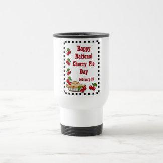 National Cherry Pie Day February 20 Travel Mug