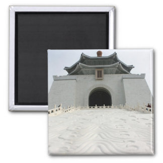National Chiang Kai-shek Memorial Hall, Taipei 2 Inch Square Magnet