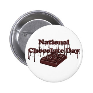 National Chocolate Day Buttons