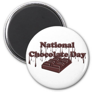 National Chocolate Day Fridge Magnet