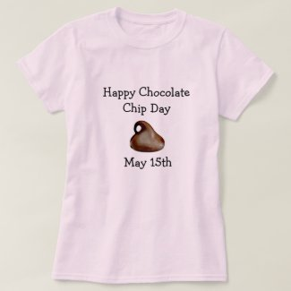 National Chocolate Day May 15 Funny Food Holiday T-Shirt