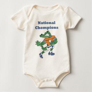 National Chompions Alligator Baby Bodysuit