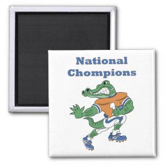 National Chompions Alligator Magnet