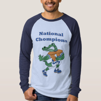 National Chompions Alligator Mens Long Sleeve Tee