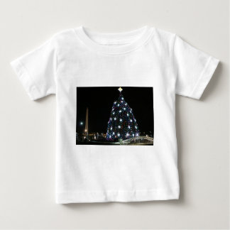 National Christmas Tree Washington Monument Baby T-Shirt