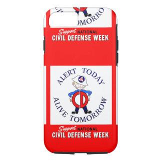 National Civil Defense Week iPhone 7 Case