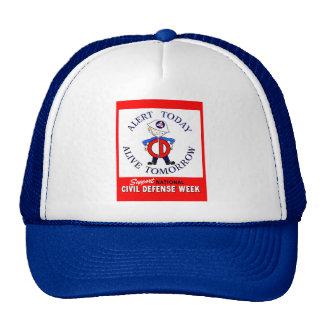 National Civil Defense Week Trucker Hat
