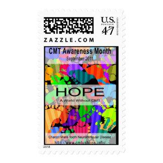 National CMT Awareness Month September 2011 Postage