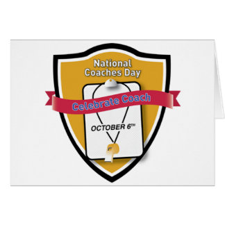 National Coaches Day Thank You Card