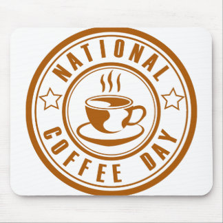 National Coffee Day Mouse Pad