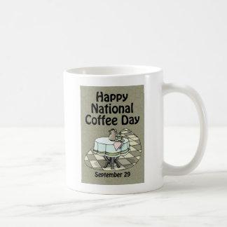 National Coffee Day September 29 Coffee Mug