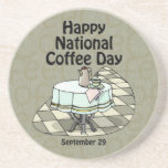 National Coffee Day September 29 Drink Coasters