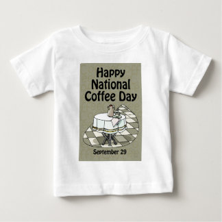 National Coffee Day September 29 T-shirt