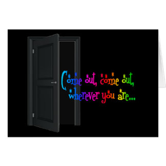 National Coming Out Day (NCOD) Closet LGBT Card