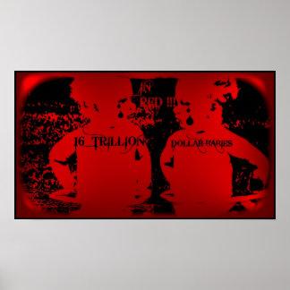 National Debt 2012 -16 Trillion Dollar Babies Poster