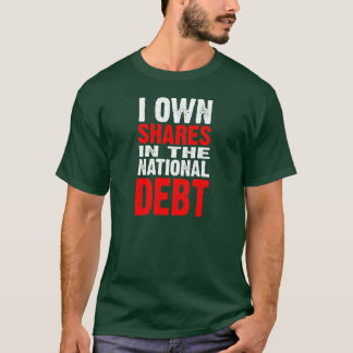 National Debt (dark) - Customized T-Shirt