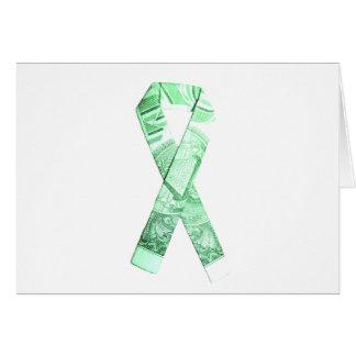 National Debt/Defecit Awareness Ribbon Card