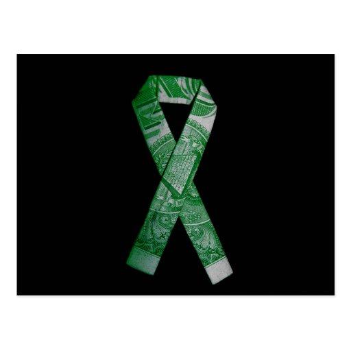 National Debt/Defecit Awareness Ribbon Postcard