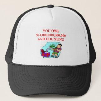 national debt trucker hat