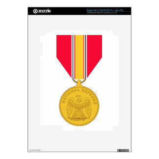 National Defense Service Medal Decal For iPad 3
