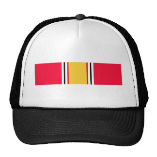 National Defense Service Ribbon Mesh Hats