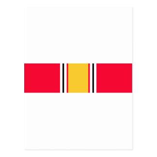 National Defense Service Ribbon Postcard