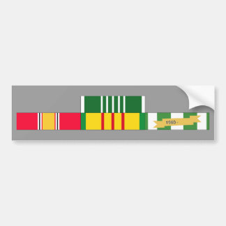 National Defense Service Vietnam Army Commendation Bumper Sticker