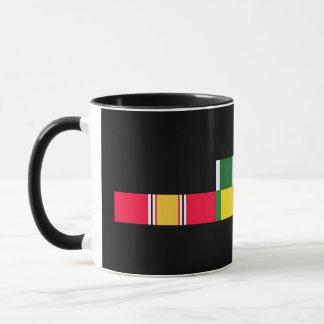 National Defense Service Vietnam Army Commendation Mug