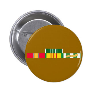 National Defense Service Vietnam Army Commendation Pinback Button