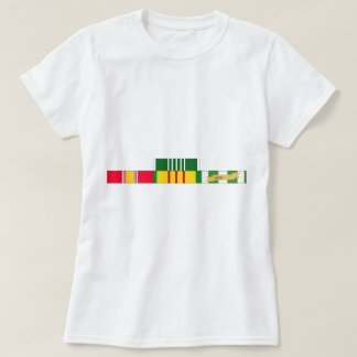 National Defense Service Vietnam Army Commendation T-shirt