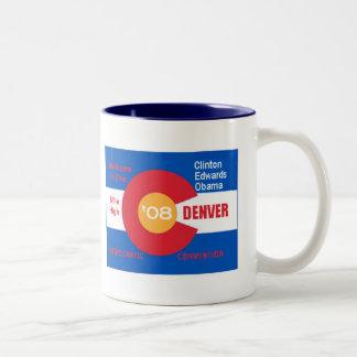 National Democratic Convention Denver Flag Mug