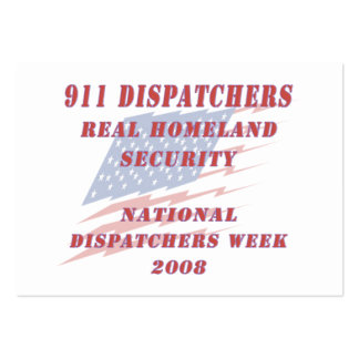 National Dispatchers Week 2008 Business Cards