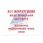 National Dispatchers Week 2008 Large Business Cards (Pack Of 100)