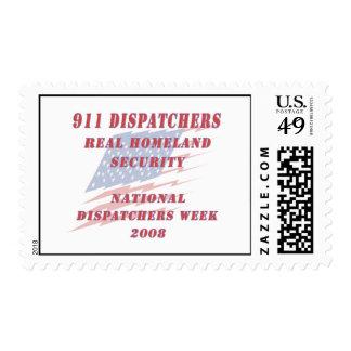 National Dispatchers Week 2008 Postage Stamp
