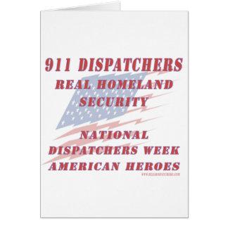 National Dispatchers Week American Heroes Card