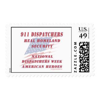 National Dispatchers Week American Heroes Stamps