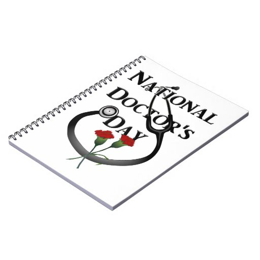 National  Doctor's Day Spiral Note Book