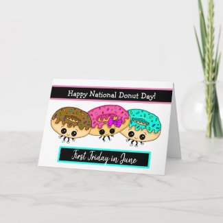 National Donut Day Card