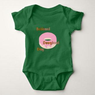 National Doughnut Day for babies Baby Bodysuit